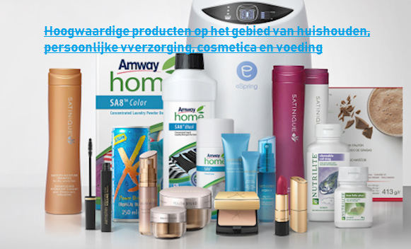 Amway producten